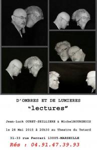 Jean-Luck Ouret-Seillière - Michel Bourgeois - d'ombre et de lumières - lectures