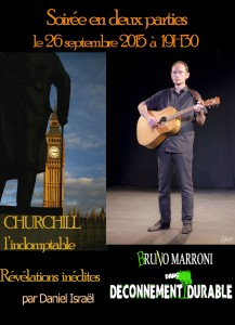 Churchill - Churchill l'indomptable - déconnement durable - Daniel Israël - Bruno Marroni - Révélations inédites