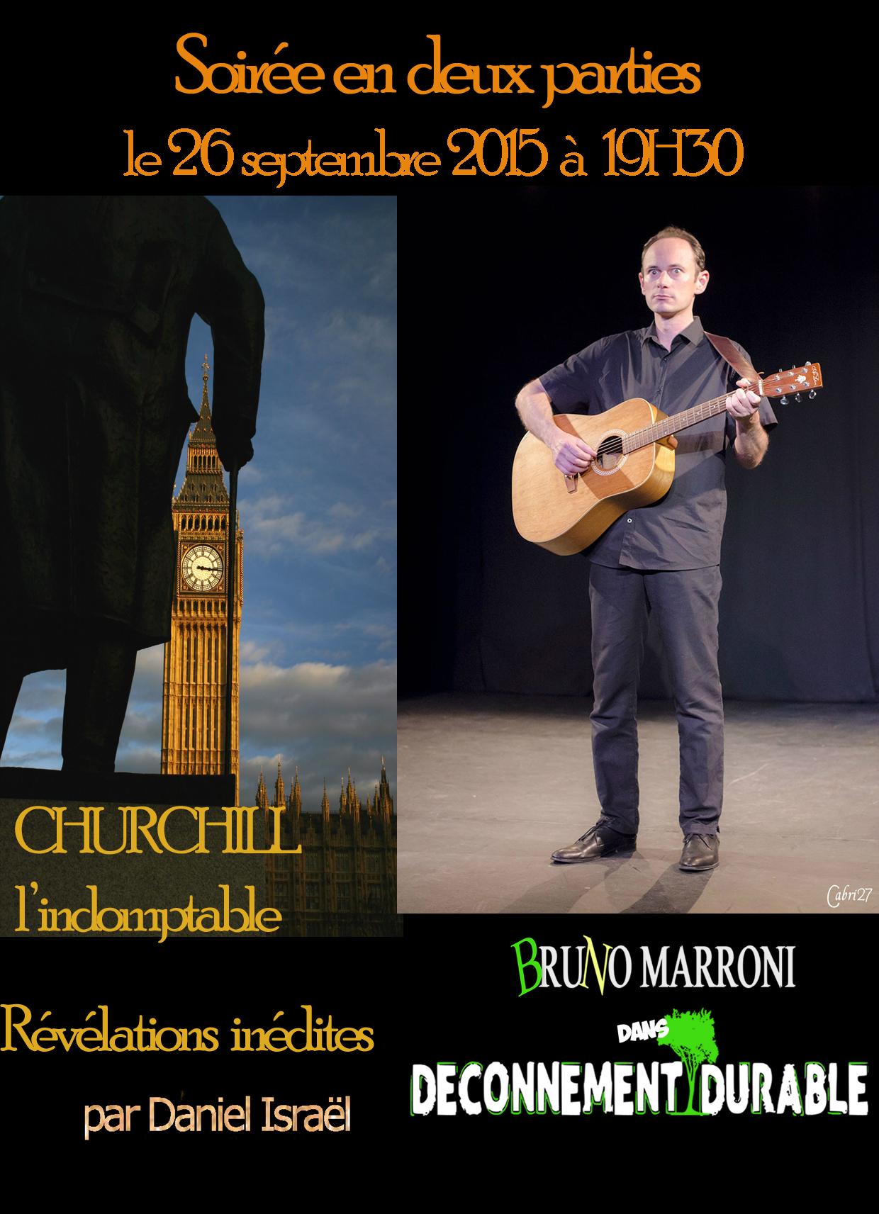 Churchill - Churchill l'indomptable - déconnement durable - Daniel Israël - Bruno Marroni - Révélations inédites