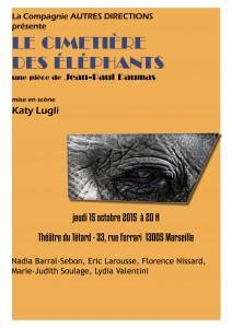 les éléphants - Le cimetière des éléphants - Jean-Paul Daumas - Cie Autres Directions