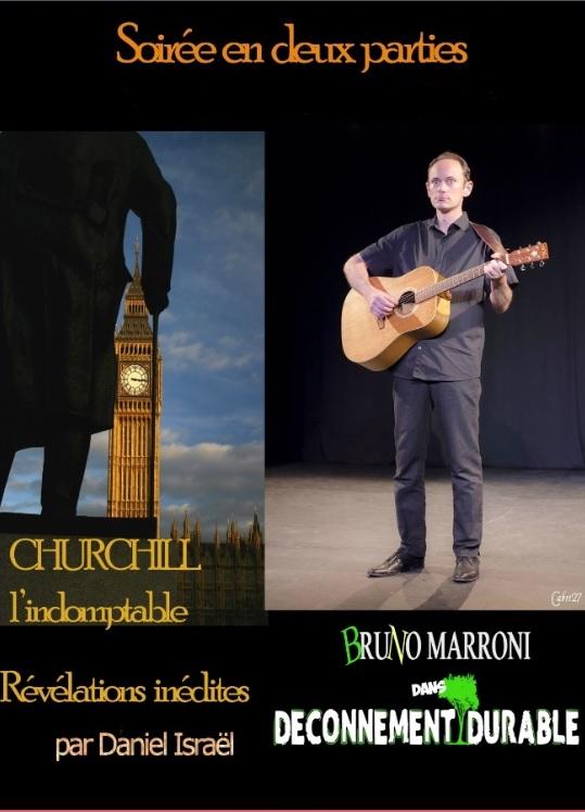Daniel Israël, conteur, Bruno Marroni, humoriste, one man show, théâtre, théâtre du Têtard, têtard, bouchon, Bouchon Lyonnais