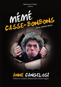 mémé casses-bonbons, Têtard, théâtre, one woman show, bouchon, bouchon-lyonnais, 13005 Marseille, 13005, Anne Cangelosi, Alexandre Delimoges