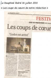 Godot, Godot est arrivé, Patrick Coppolani, Annie Coudene, Patrick Ruggirello, Charles Ribard, Marc Gonzalez