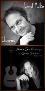 Lionel Malka, chansons, chant, musicien, musique, Anka Gnoth, George Dunchev, folklore, jazz, poésie