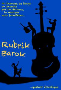 Rubrik Barok, quatuor, quatuor éclectique, Concert original