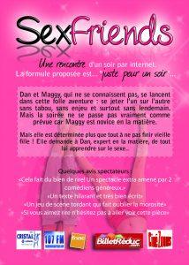 Sexfriends, comédie, Caroline Steinberg, Jérémie Dreyfus, le Têtard