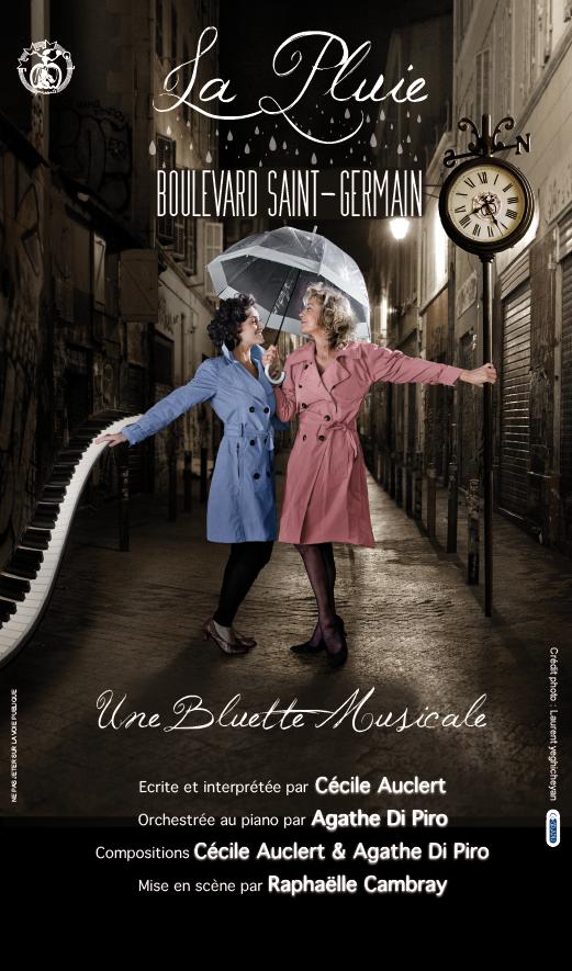 La Pluie Boulevard Saint-Germain, Chopin, Cécile Auclert, Agathe Di Piro, bluette musicale, Raphaëlle Cambray