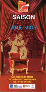 invitation, présentation, nouvelle saison théâtrale, café-théâtre, le Têtard, le théâtre du Têtard, relation presse, 13005, 13005 Marseille