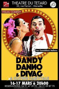 Dandy Danno, DivaG, Diva G., clown, a clown fairytale, visual comedy