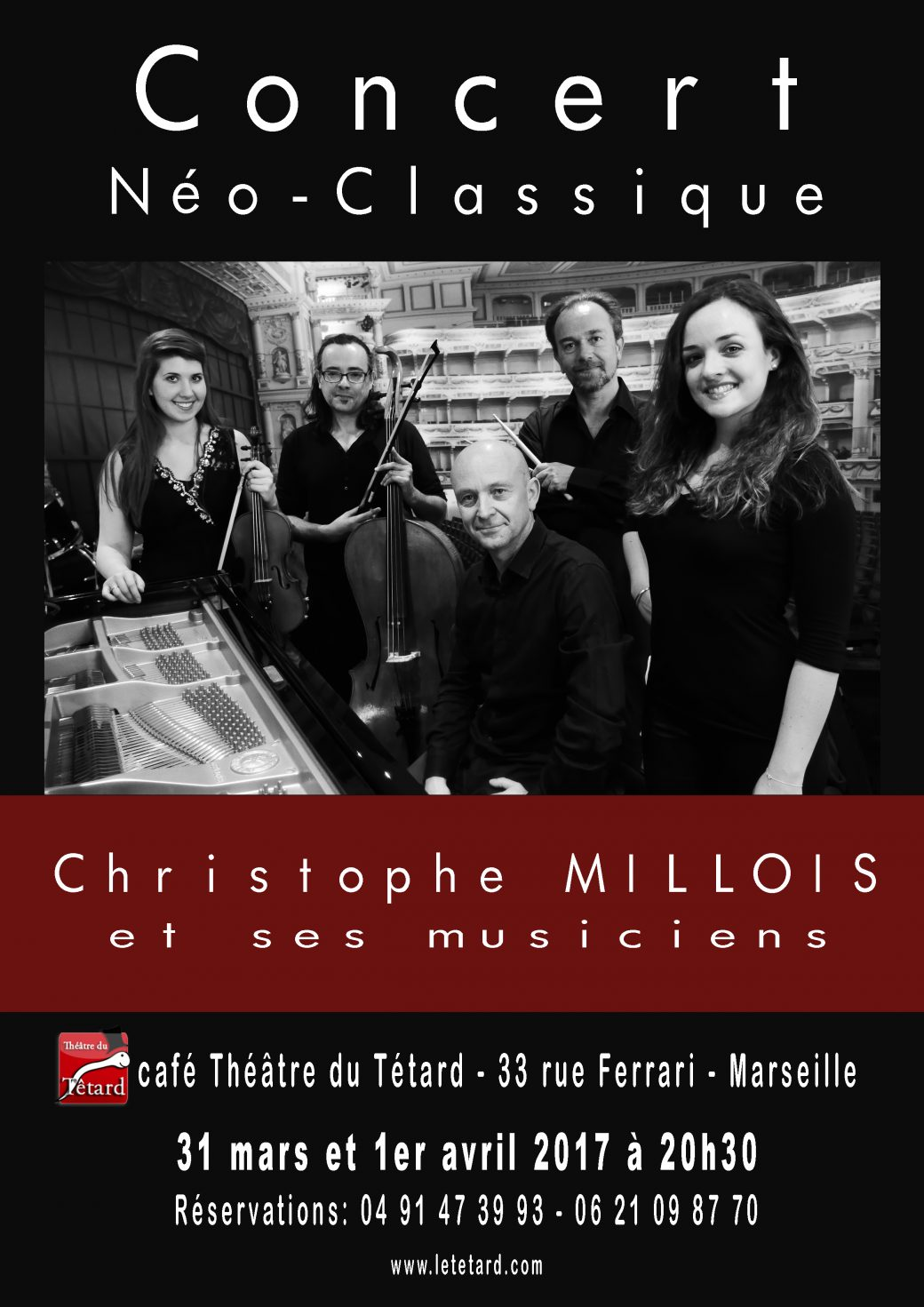 Christophe Millois, piano