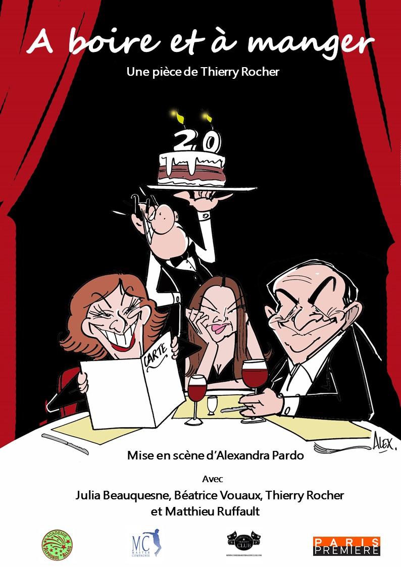 À boire et à manger, Thierry Rocher, Julia Beauquesne, Béatrice Vouaux, Patrick Barbosa, Paris Première