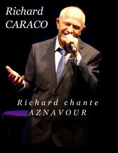 Charles AZNAVOUR, Aznavour, Richard CARACO, Auteur Compositeur, Théâtre du Têtard, variété française