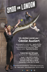 La Pluie Boulevard Saint-Germain, Chopin, Cécile Auclert, Agathe Di Piro, bluette musicale, Raphaëlle Cambray, Christophe Leloil, Smog in London