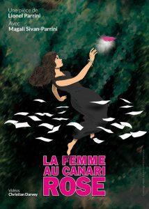 Théâtre du Têtard, Lionel Parrini, Magali Sivan-Parrini, Christian Davey, La femme au canari rose, Thomas Wassouf, Frank Veyrine