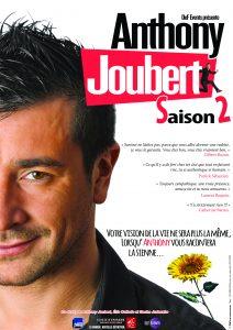 comique, Anthony Joubert, saison 2, humoriste, stand up, one man show