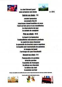 menu, diner-spectacle, dîner, repas, restaurant, bouchon-lyonnais, 13005, marseille, Marseille, bouchon, cuisine lyonnaise, théâtre, théâtre du Têtard, têtard, tetard, café-théâtre