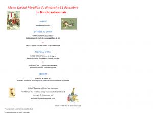 menu, dîner, repas, restaurant, bouchon-lyonnais, 13005, marseille, Marseille, bouchon, cuisine lyonnaise, théâtre, théâtre du Têtard, têtard, tetard, café-théâtre, beaujolais, beaujolais nouveau, Réveillon, repas de fête, festif
