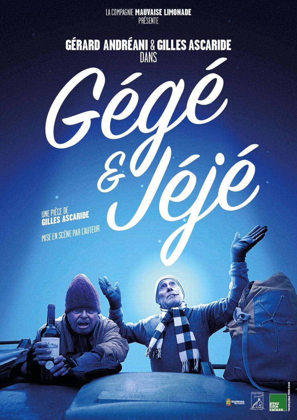 Affiche Gégé et Jéjé