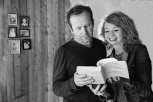 lecture théâtralisée Correspondance passionnée avec Françoise Cauwel et Laurant Moreau