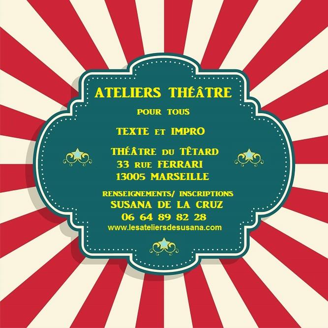 ateliers théâtre pour tous, cours de théâtre