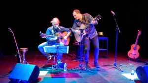 concert de Michel Dinard au Têtard