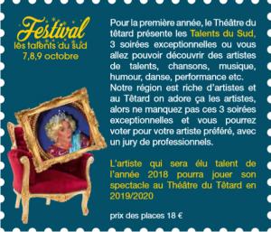 Festival : Les Talents du Sud