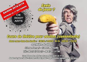 Anabel Gransagne - David Simon - Cie Root'Arts - Café-Théâtre du Têtard