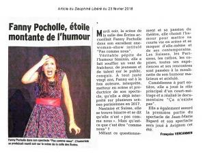 Fanny Pocholle, étoile montante de l'humour