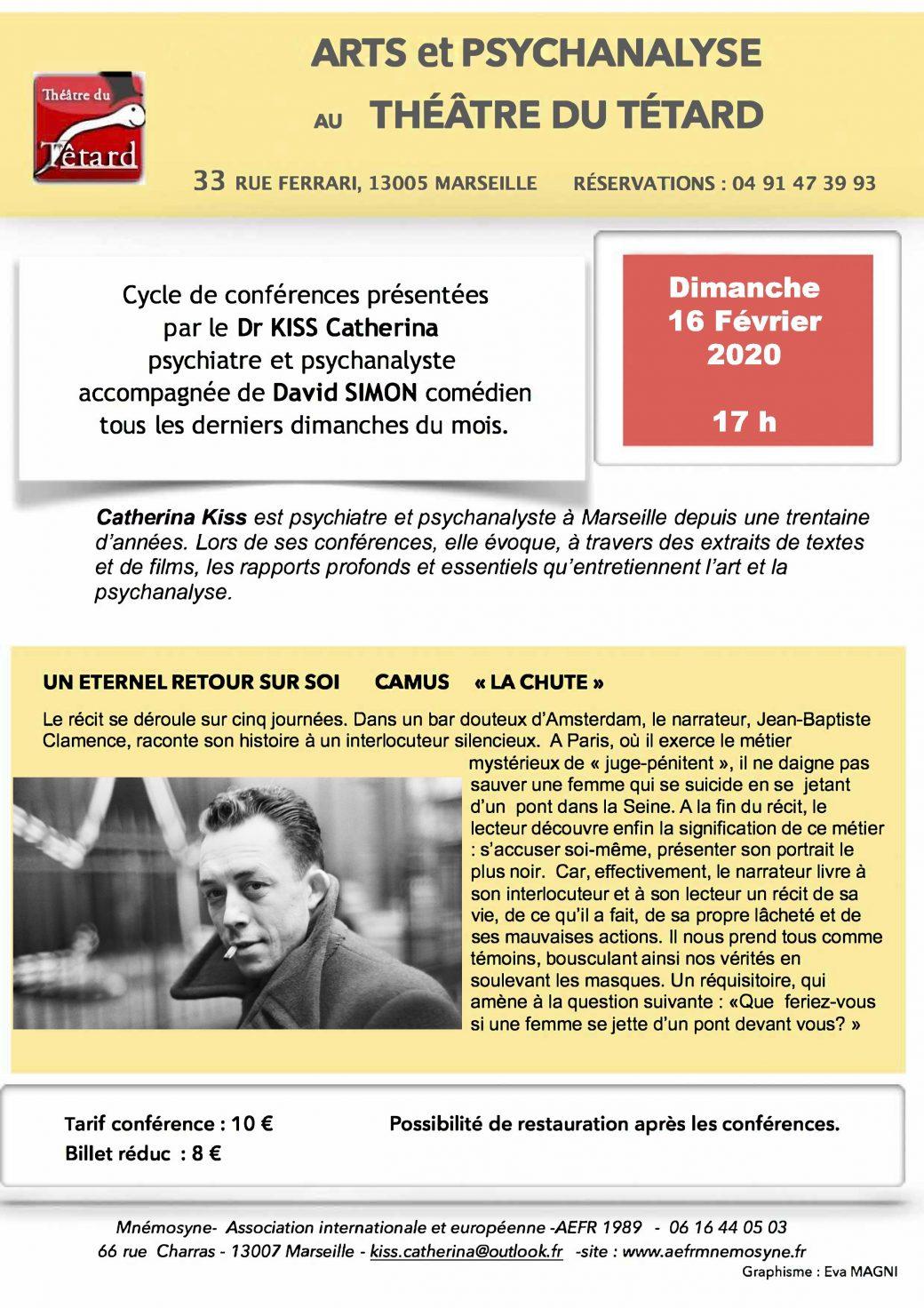 Un éternel retour sur soi - Camus « La Chute »