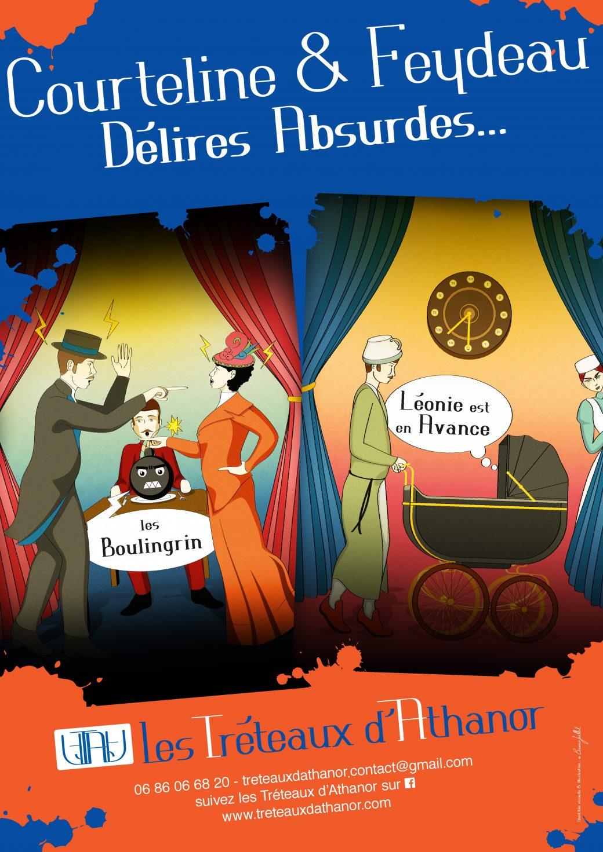 Coruteline & Feydeau - Délires Absurdes...