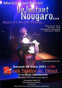 Un Instant Nougaro... Jazz et Autre Poésie...