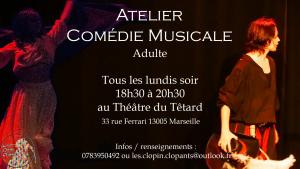 Atelier Comédie Musicale Adulte