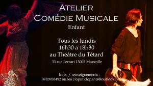Atelier Comédie Musicale Enfant